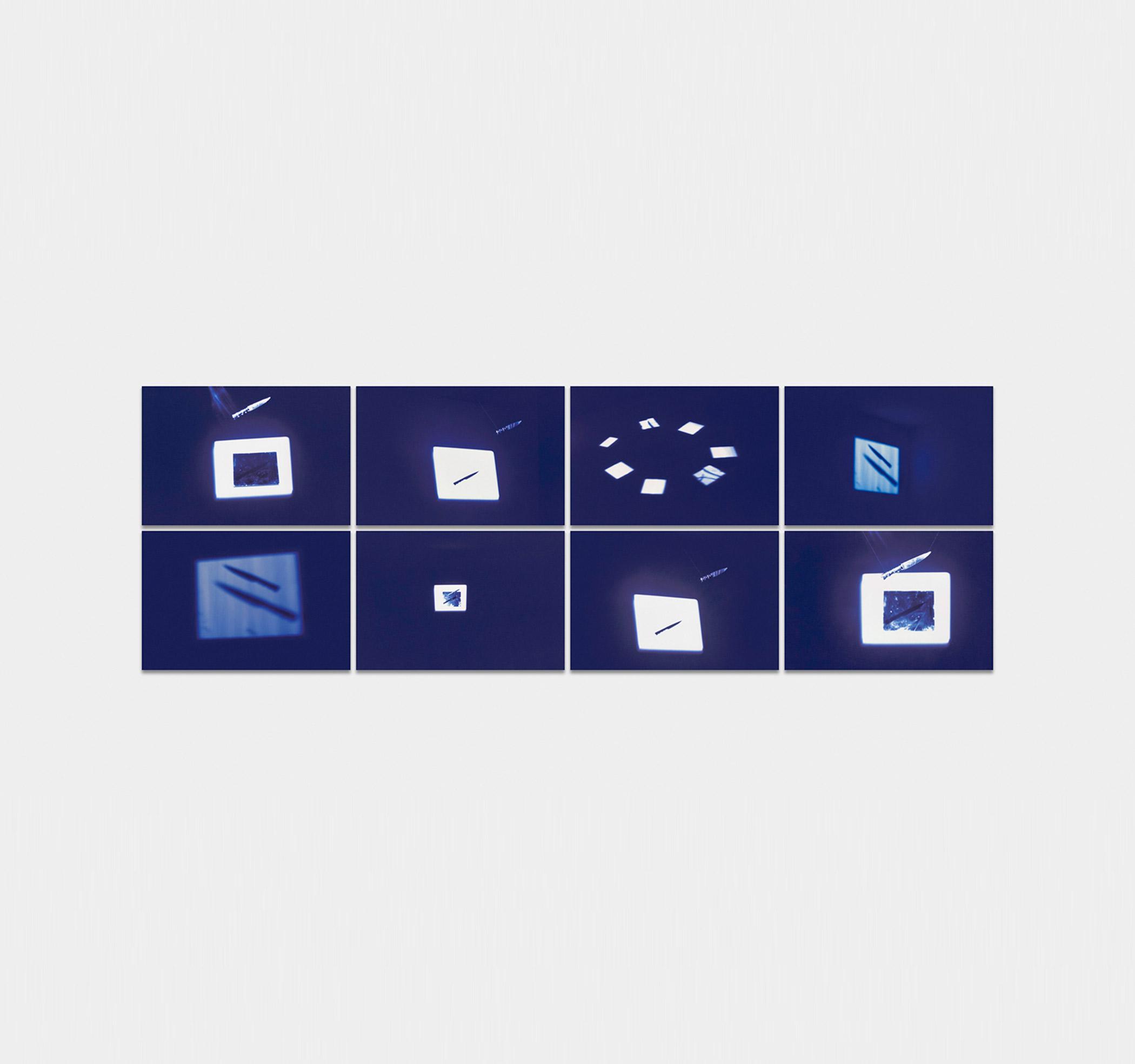 iole de freitas_ glass pieces, life slices_ 1974/2018
